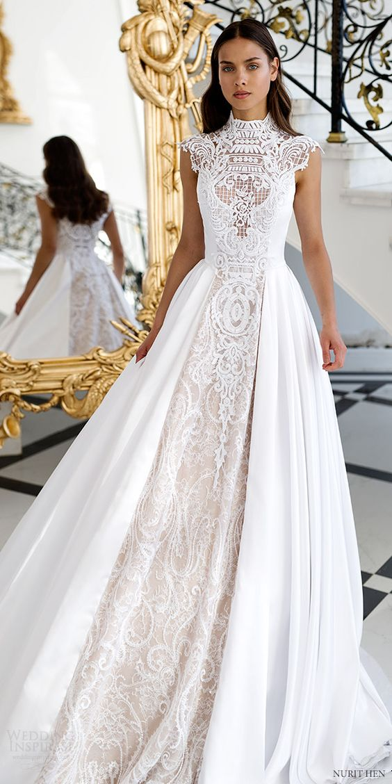The 2018 Wedding Dress Trends From Pinterest - Arabia Weddings