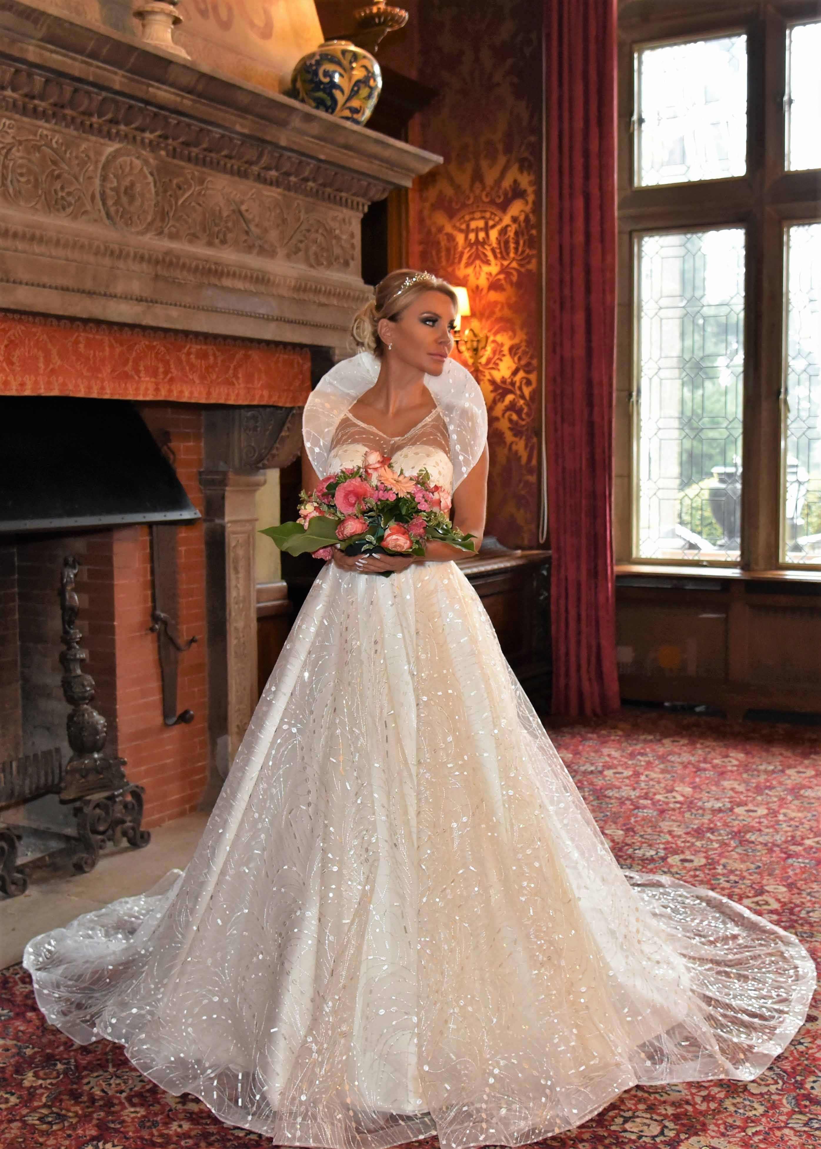 Latest German-Made Wedding Dresses By Samiha Baehr
