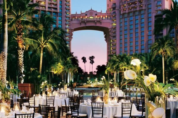 atlantis wedding bahamas weddings resort destination dubai venues venue congress bid wins host planning reception palm site official