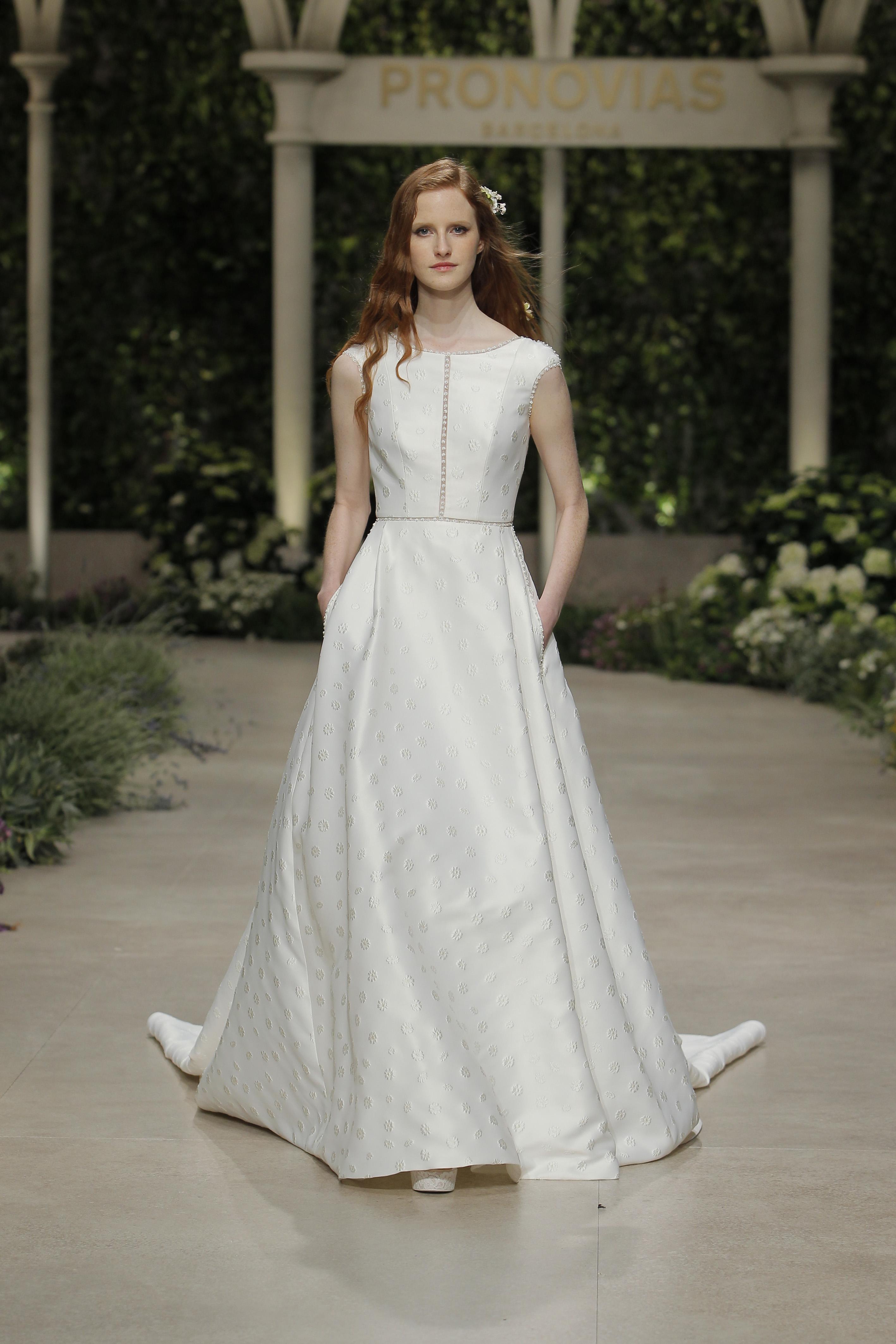 f083bf7c382b4 ... Pronovias wedding dress. Pronovias · pr19_37_christie_2