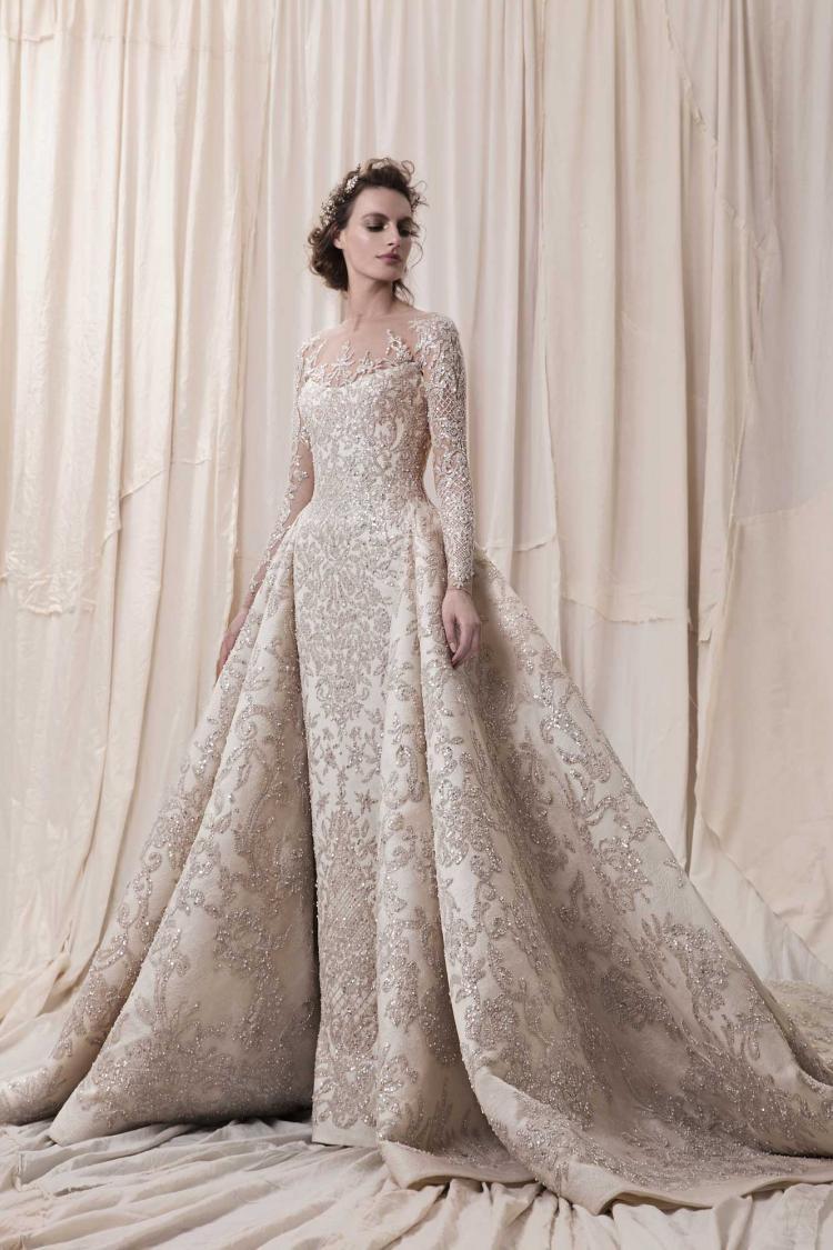 f23e928a0 أشهر مصممي فساتين الزفاف والأزياء في لبنان | موقع العروس