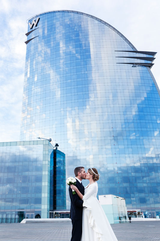 Weddings at W Barcelona