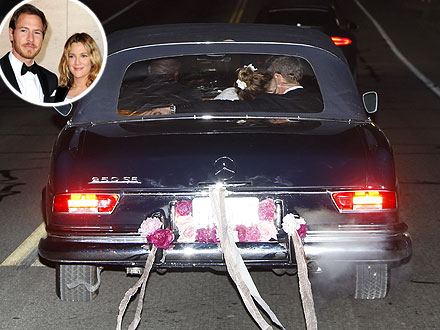 Pictures: Drew Barrymore and Will Kopelman's Wedding ...