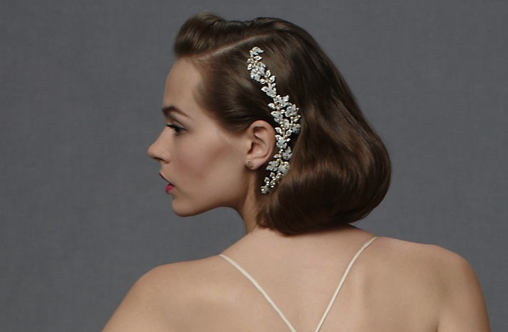 Hair Styles For Short Hair Brides: Bridal Hairdos For Short Hair