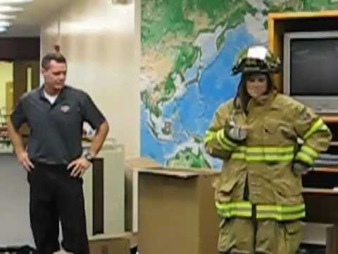 Fireman Proposes to Teacher
